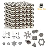 Toys : Magnetic Balls,Buck Balls,3mm Magic Decompression Toy for Intelligence Development and Stress Relief,Office Decoration by Shellvcase ( 216 balls)