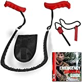 Pocket Chain Saw & Fire Starter - Saw For Camping and Survival Gear. Includes Fire Starter and Digital Survival Guide by SOS Rescue Tools