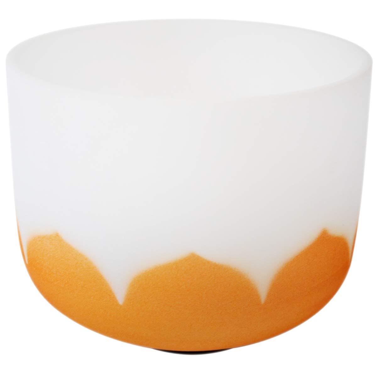 2019年最新海外 Jindian Dノート クリスタルボウル 歌うボール Dノート Orange-11F 11インチ クリスタルシンギングボウル チャクラ 瞑想 チャクラ ヨガ用 マレット付き オレンジ Orange-11F B07LFB1BWC, 玉名郡:11d5c04b --- a0267596.xsph.ru