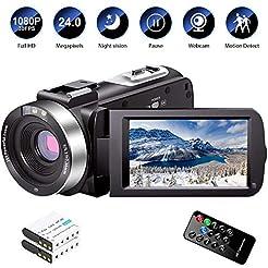Video Camera Camcorder Full HD 1080P 30F...