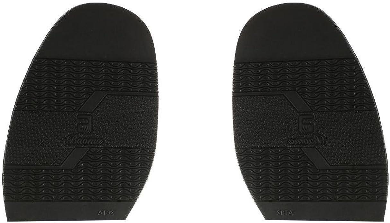 Marron Baoblaze Paire de Demi-Semelle Avant-pied Unisexe Caoutchouc R/éparation de Chaussures DIY Epaisseur 2mm