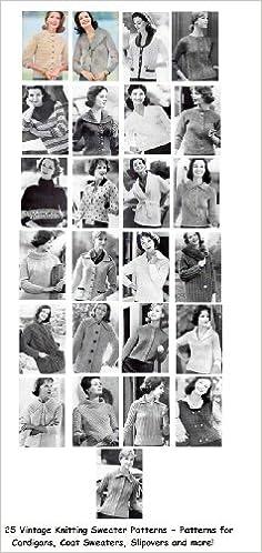 1940s Sewing Patterns – Dresses, Overalls, Lingerie etc 1940s 1950s Knitting Patterns $3.99 AT vintagedancer.com