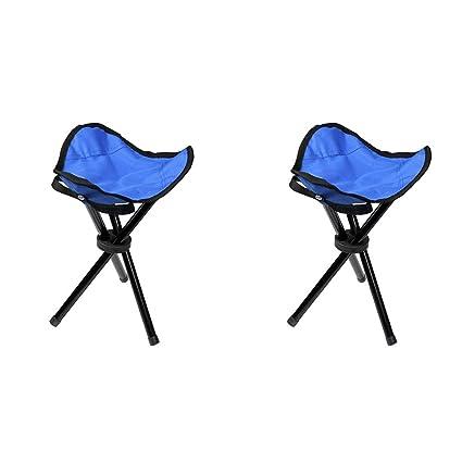 Peachy Amazon Com Stylowy Tall Slacker Chair Folding Tripod Stool Ocoug Best Dining Table And Chair Ideas Images Ocougorg
