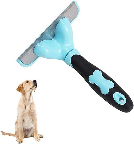 AYWJ Cepillo para Perros y Gatos, Peine Rascador Quitapelos para ...