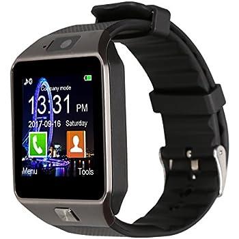 Amazon.com: Padgene Bluetooth DZ09 Smartwatch Touch Screen ...