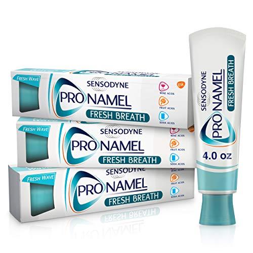 Pronamel Sensodyne xFresh Breath Enamel Toothpaste for Sensitive Teeth, to Reharden and Strengthen Enamel, Fresh Wave…