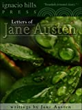 Jane Austen's letters by Jane Austen front cover