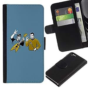 All Phone Most Case / Oferta Especial Cáscara Funda de cuero Monedero Cubierta de proteccion Caso / Wallet Case for Apple Iphone 6 // Funny Heavy Rock Band
