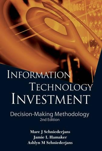 Information Technology Investment: Decision-Making Methodology (2nd Edition)