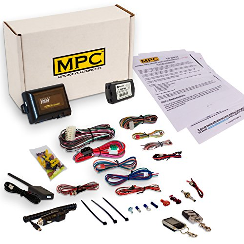 MPC EZ Install 2-Way FM Remote Start Kit w/Keyless Entry for Honda/Acura. Includes Bypass!