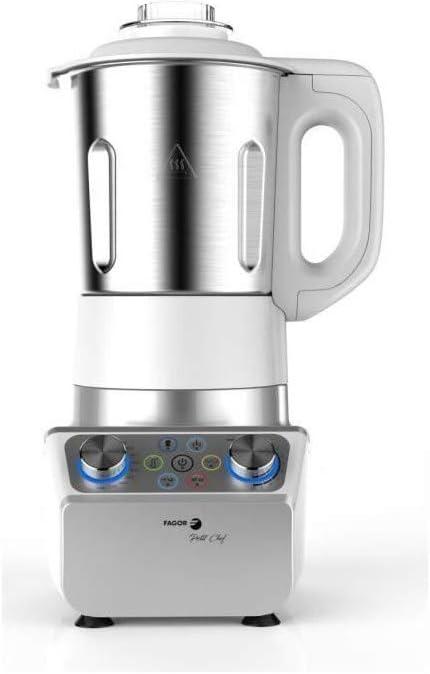 FAGOR FG142 - Licuadora de cocci�n peque�a para chef - 1000 W - 2.5 L - Recipiente de acero inoxidable - Variador de velocidad - Temperatura variable