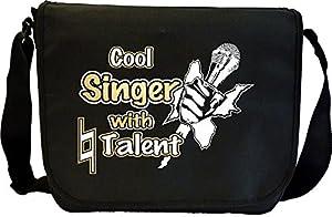 Vocalist Singing Cool Singer Natural Talent - Sheet Music Document Bag Musik...