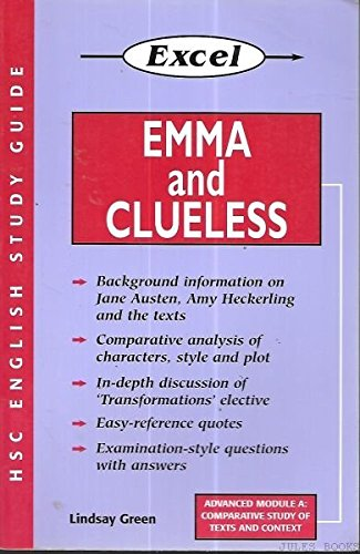 an analysis of characters in jane austins novels emma and clueless Jane austen's characters are  jane austen and social judgement  she copied their opinions of two of her novels, mansfield park and emma,.
