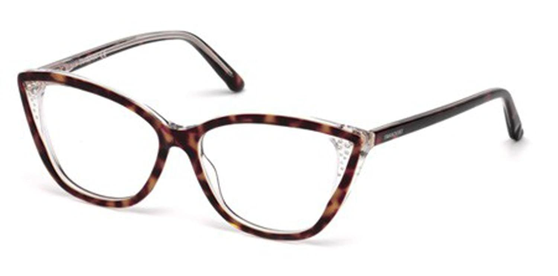 143a84afac1e Swarovski SK5183 GIANNA Eyeglasses 056 Havana Other 53-14-140   Amazon.co.uk  Shoes   Bags