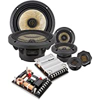 Precision Power P.65C3 6.5 3-Way Power Class Series Component Car Audio Speaker System