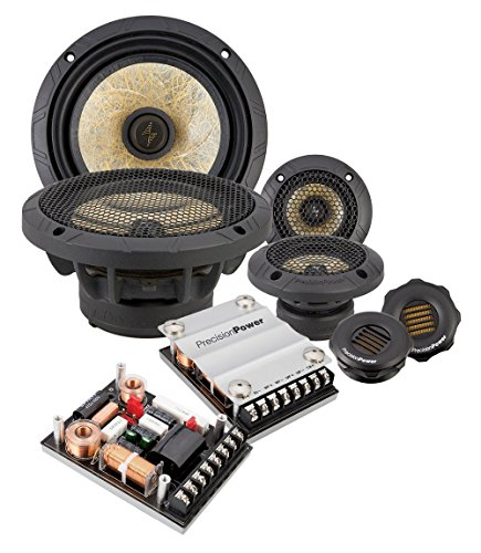 Precision Power P.65C3 6.5″ 3-Way Power Class Series Component Car Audio Speaker System