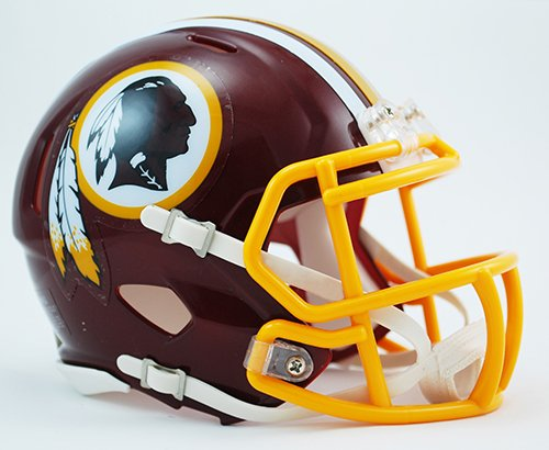 (Washington Redskins Riddell Revolution Speed Mini Football Helmet)