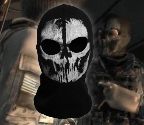 Tinksky Ghost Balaclava Skull Balaclava Mask Ski Mask - Ghost Mask