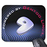 Zazzle Powered By Gentoo Linux Mouse Pad