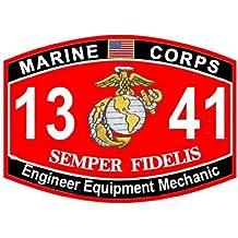 USMC Mos 1341ingeniero Equipo mecánico Decal