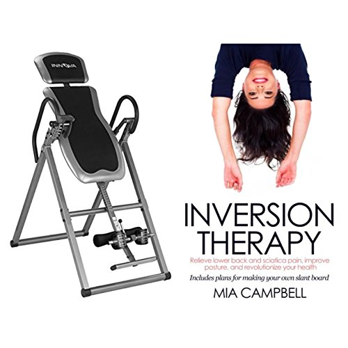 Inversion Table Height (Bundle Includes 2 Items - Innova ITX9600 Heavy Duty Inversion Table and Inversion Therapy: Relieve lower back and sciatica pain, improve posture, and revolutionize your health)