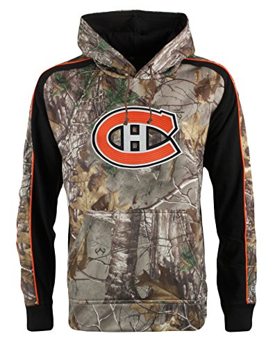 Old Time Hockey NHL Montreal Canadiens Men's Decoy Hoodie, 3X-Large, Camouflage (Nhl Montreal Hockey)