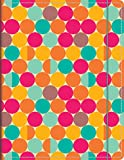 Orange Circle Studio 17-Month 2016 Just Right Monthly Planner, Retro Days