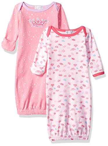 Quiltex Baby Girls Pack Bodysuit