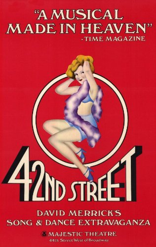 42nd Street Broadway Poster - Style A