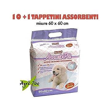 Super oferta 352 alfombrillas absorbentes para perros assorbipiu 60 x 60 cm: Amazon.es: Hogar