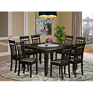 9 Pc Dining room set-Table and 8 Kitchen Chairs.