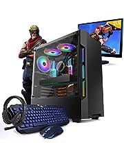 Kit Pc Gamer Smart Pc SMT81262 Intel i5 8GB (GeForce GTX 1650 4GB) 1TB + Monitor 21,5