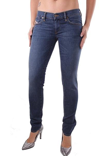 Diesel Getlegg 0R96R Mujer Jeans Pantalones Slim Skinny ...