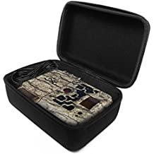 FitSand Hard Case for Browning STRIKE FORCE ELITE Sub Micro Trail Camera Travel Zipper Carry EVA Best Protection Box