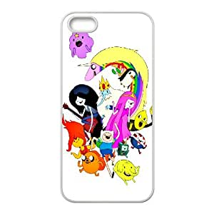 Diy Phone Cover Adventure Time for iPhone 5, 5S WEQ960085