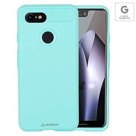 meet 69783 0a762 Stuffcool STARMRGPIXEL3XL Mobile Case Cover for Google Pixel 3 XL (Mint)