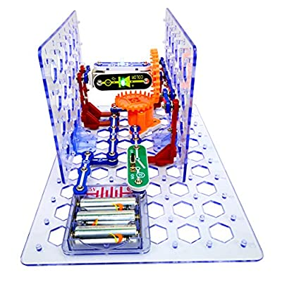 Snap Circuits - 3D M.E.G. Electronics Discovery Kit: Toys & Games