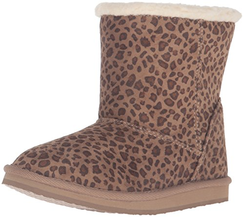Roxy Girls' RG Molly Boots Slip-on, Cheetah Print, 13 M US Little Kid