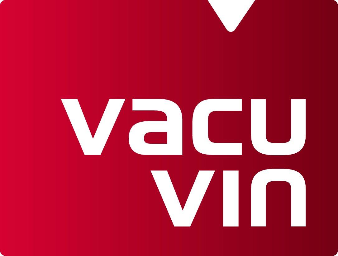 Vacu Vin 08542606 Wine Saver Pompe /à Vide avec Bouchon Acier Inoxydable Blanc 18 x 12 x 12 cm