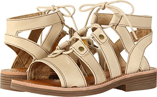 Caterpillar Women's Kobbi Lace Up Open Toe Leather Sandals Warm Sand Size 7.5M