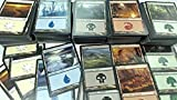 500 Magic: The Gathering Basic Lands - 100 …