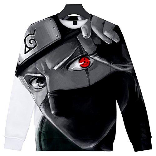 shirts Ctooo Homme 3xl 09 Xxs Mode 2018 Naruto Sweat 3d TRqcEwaRpx