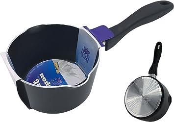 Non Stick Milk Pan Saucepan High Quality Stainless Steel Premium Tea Pot 15Cm