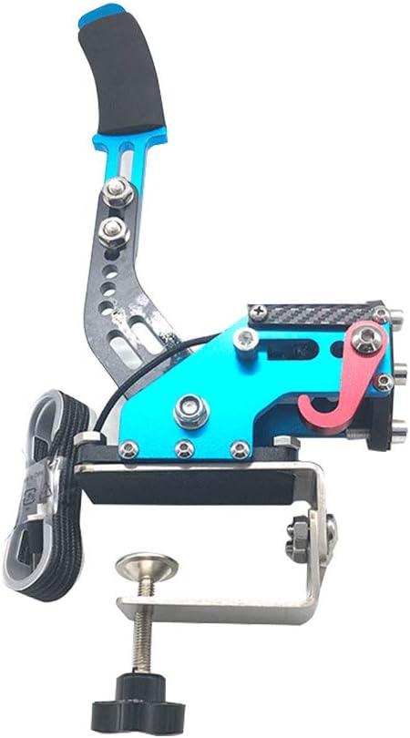 verstellbare H/öhe f/ür Rennspiele G25//27//29 Drift Rally Racing USB Handbremse Handbremse Handbremse f/ür PC 14 Bit horizontal Hebel universal