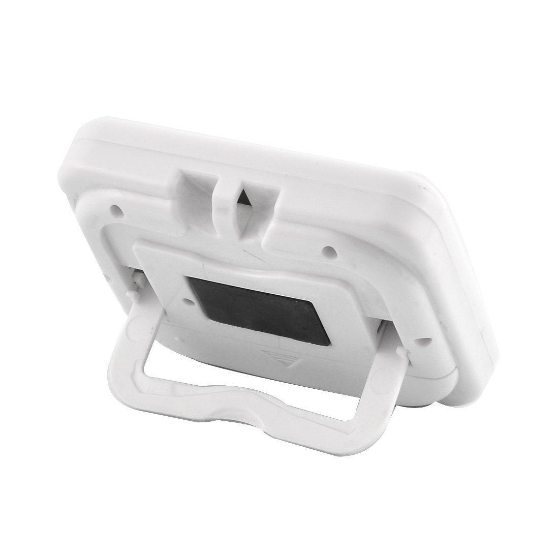 Amazon.com: eDealMax ABS LCD de batería Desarrollado digital de cuenta atrás de alarma Hasta reloj temporizador Blanca: Kitchen & Dining