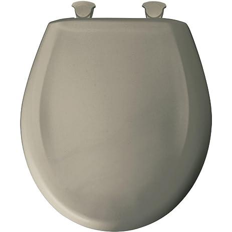 grey soft close toilet seat. Bemia Bemis 200SLOWT 052 Slow Close Sta Tite Round Closed Front Toilet Seat