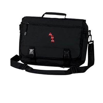 Alpha Sigma Alpha ASA Emblem Briefcase durable service