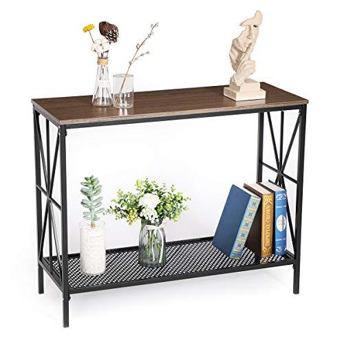 Amazon.com: Alecono Industrial Console Table- Alecono Sofa ...