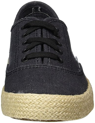 L.A. Gear Malva, Zapatillas de Lona Mujer Negro (Black)