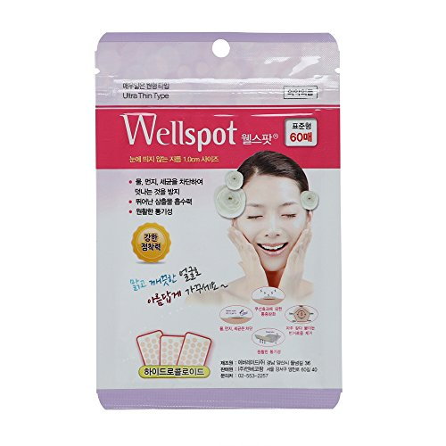 [Wellspot] Acne Pimple Wound Scar Protection Patch Ultra Thin Type 48sheets
